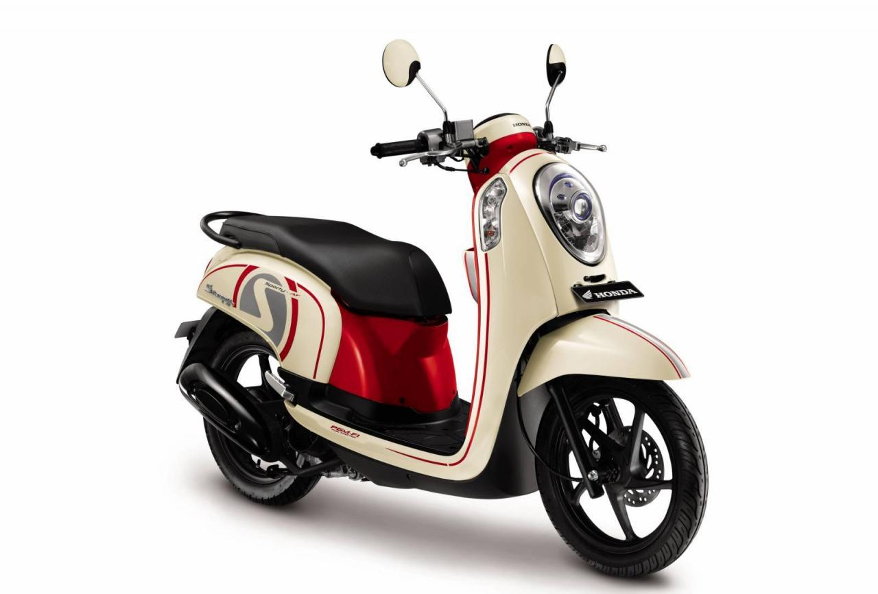 Honda Scoopy LED